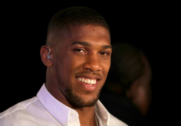 Anthony Joshua honoured with OBE by Queen Elizabeth II