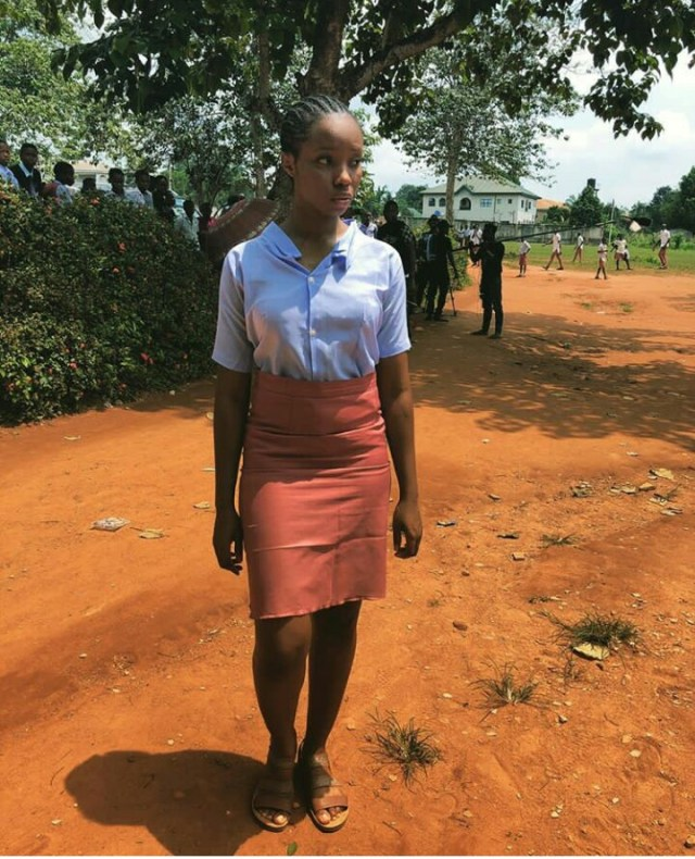 Bambam Slays In A Secondary School Uniform (Photo)