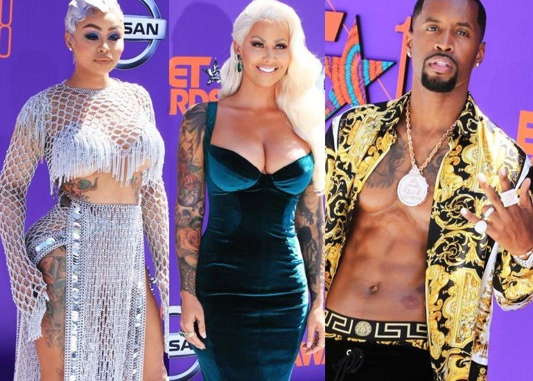 Check Out How Your Favorite Celebrities Dressed To The BET Awards (See Stunning Pictures)