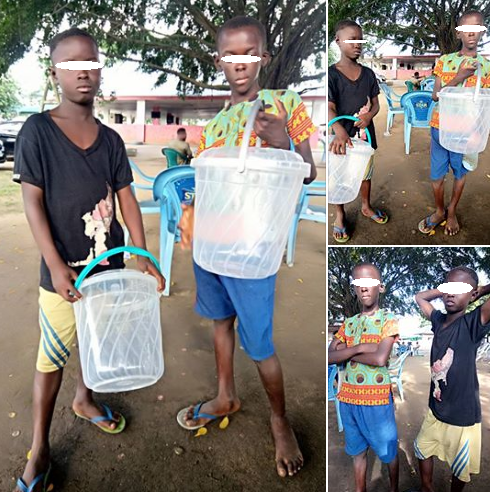 """Beware Of These Two Young Boys Selling Sachet Water In Uyo"" – Man Raises Alarm"