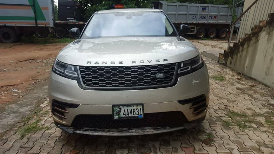Brand New Range Rover Worth N64Million Intercepted By Customs In Ogun (Photos)