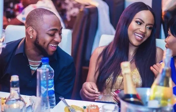 Davido Shares New Picture Of His Chef Girlfriend, Chioma