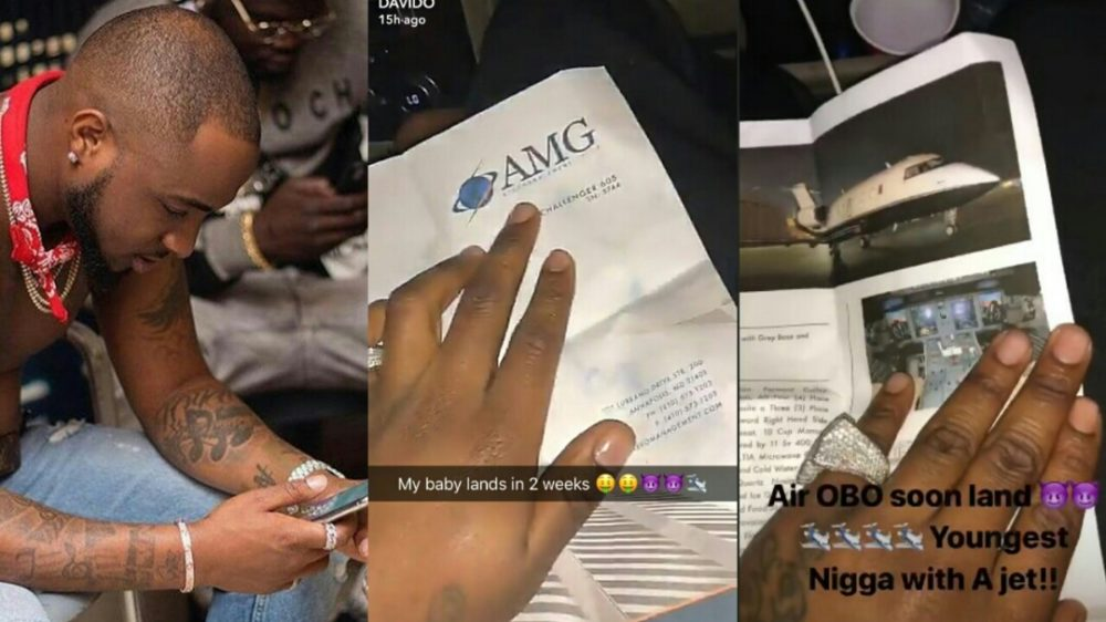 Davido Replies Fan Who Asked About His Alleged Private Jet That Was To Land Nearly A Month Ago