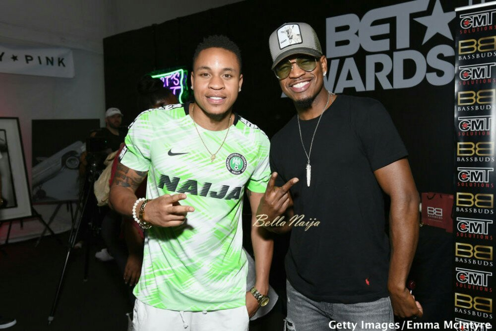 #BETAwards: Rotimi is repping Naija All the Way at Pre-BET Event 🇳🆖