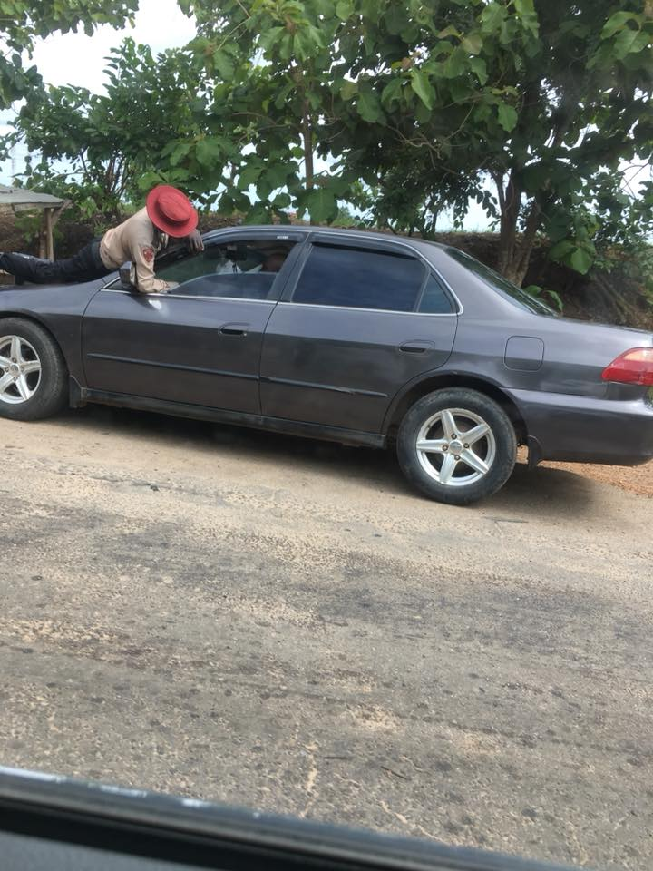 See What This FRSC Officer Did After Driver Refused To Stop His Vehicle (Photos)