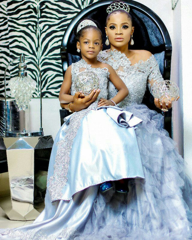 """I'm proud to be a single mum, I'm happy I didn't abort you"" – Actress, Uche Ogbodo writes to her daughter"