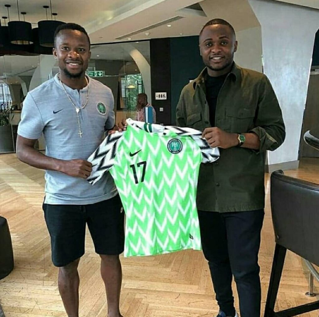 Ubi Franklin Fires Back At Fan Who Said His Nigeria World Cup Jersey Is Fake | Naijatatafo Blog