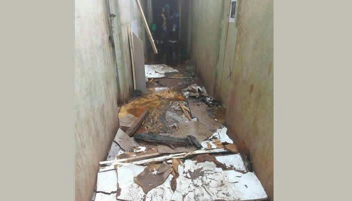 Bad! UNN Students Rendered Homeless Following a Heavy Rainstorm
