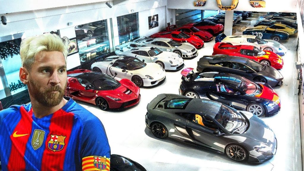 5 Exotic Cars in Messi's Collection That You Can Not Afford to Take Your Eyes Off