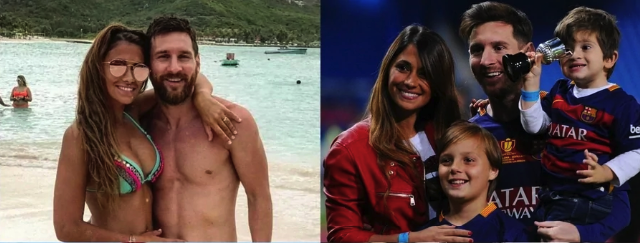 Touching Love Story of Lionel Messi and Wife