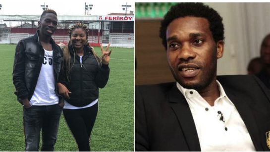 """Mad Man"" – Omeruo's Wife Slams Okocha For Saying He Is Disappointed At Omeruo"
