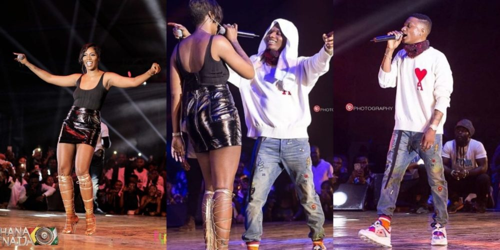 Viral Photos Of Tiwa Savage & Wizkid As They Continue To Tour Different Cities Around The World