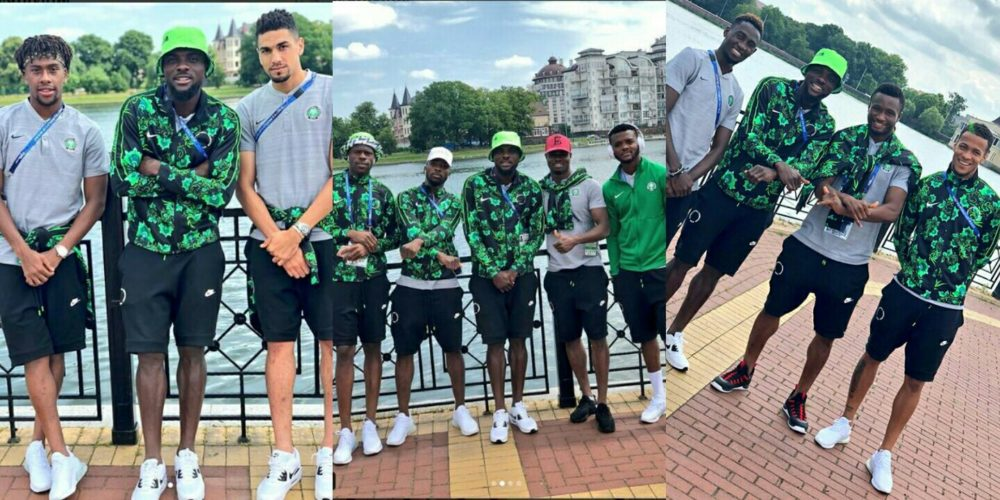 High Spirits As They Prepare To Clash Against Croatia On Saturday (PHOTOS)