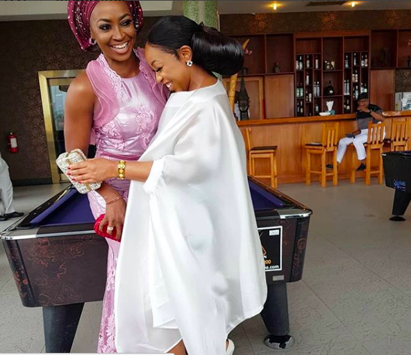 Chic! Photo Of Rita Dominic & Kate Henshaw Laughing Out Loud