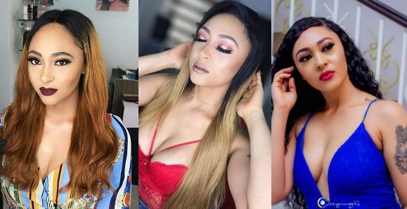 Rosy Meurer Flaunts Clea-vage To Pray For Nigeria, Gets Slammed By Fan