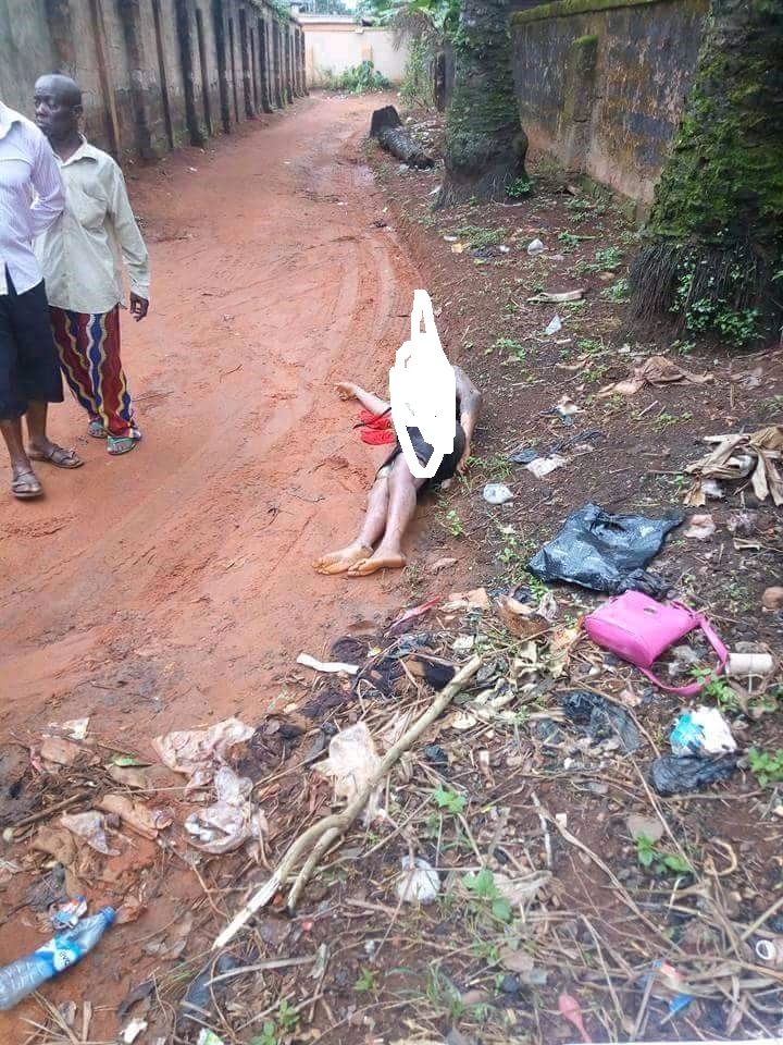 Woman Found Dead In Anambra with a murder Note 'Leave My Husband Alone'- Photos
