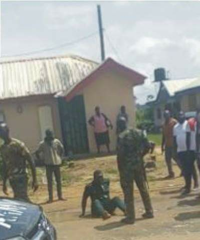 Soldiers Assault Man Who Called Them To Molest His Neighbour In Delta (Photo)