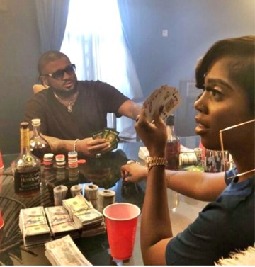 Could Tiwa Savage Be Gambling? (Photo)