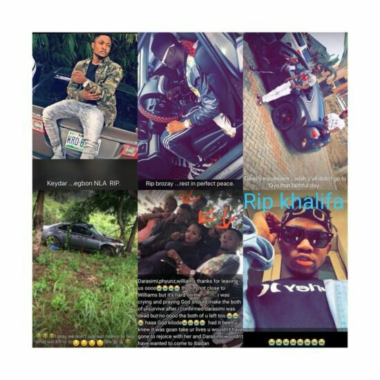 Nigerian Rapper, 2 Others Die While Returning From Friend's Graduation Thanksgiving