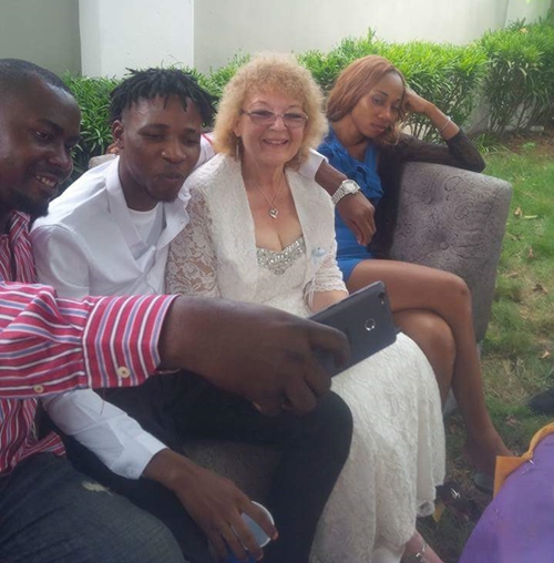 True Love? Young Nigerian Man Marries His Elderly Oyinbo Wife From Texas (Photos)
