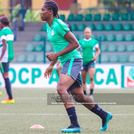 Asisat Oshoala Buys Her Parents A Luxurious House In Lagos (Photos)