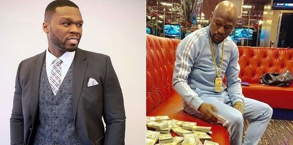 50 Cent Keeps At Floyd Mayweather's Neck Even When He Claims He's Not