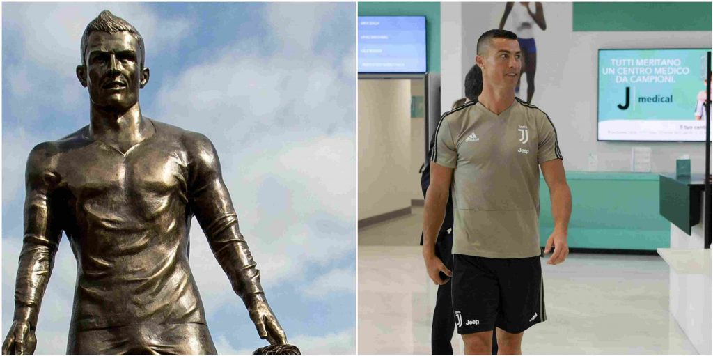 Juventus Plans To Erect Cristiano Ronaldo Statues So Fans Can Take Selfies