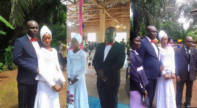 'This Marriage Is Divine'; Man Who Married 17-Year-Old Bride In Imo Reacts (Photos)