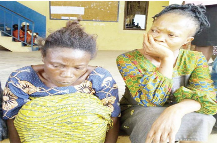 Female Child Traffickers Who Sold Three Siblings At N2.7Million, Arrested (Photo)
