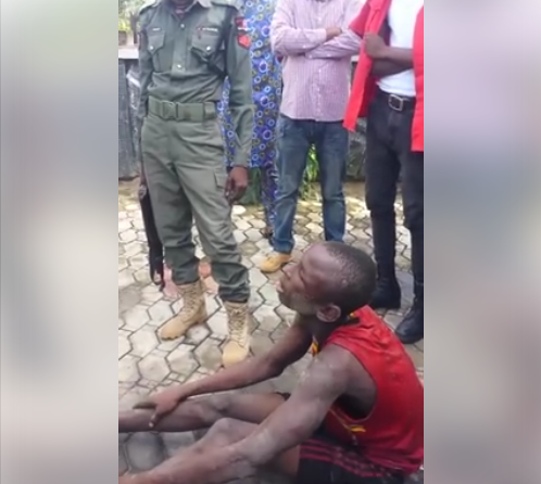 22-Year-Old Robber Apprehended After Breaking Into Man's House (Photos)