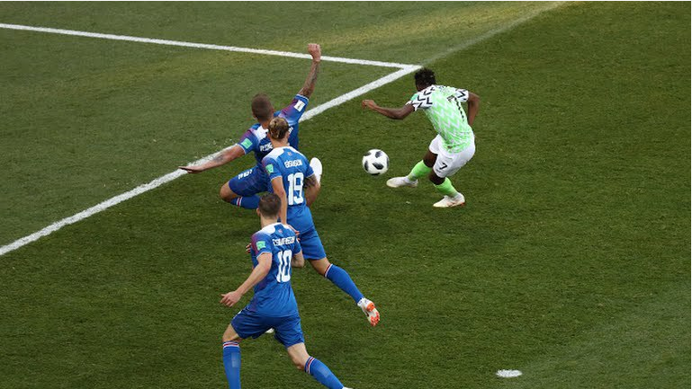 CNN Nominates Ahmed Musa's Wonder Goal Among 2018 World Cup Bests