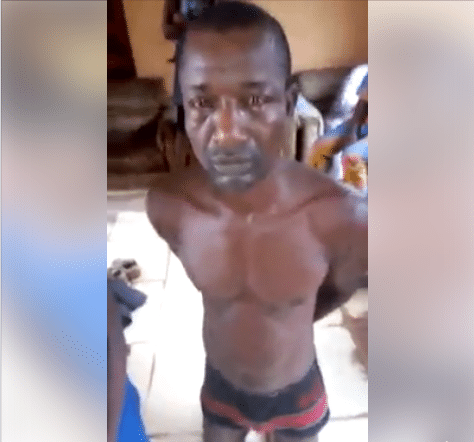 Married Man With 2 Wives Caught Sleeping With Primary School Student (Photos, Video)