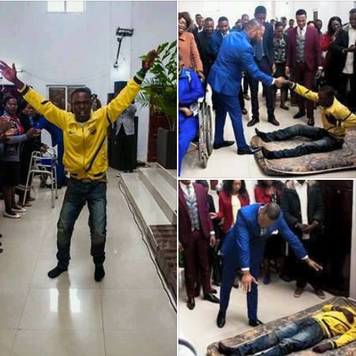 Police Summons Pastor After Allegedly Bringing Dead Man Back To Life (Photos)