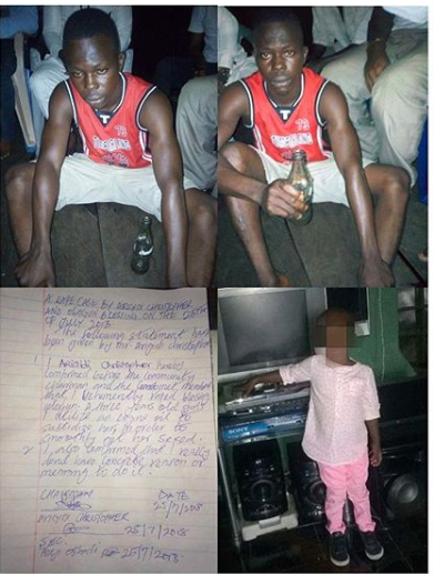 Shame! How Man Used Engine Oil To Defile 3-Year-Old Girl (Photos)