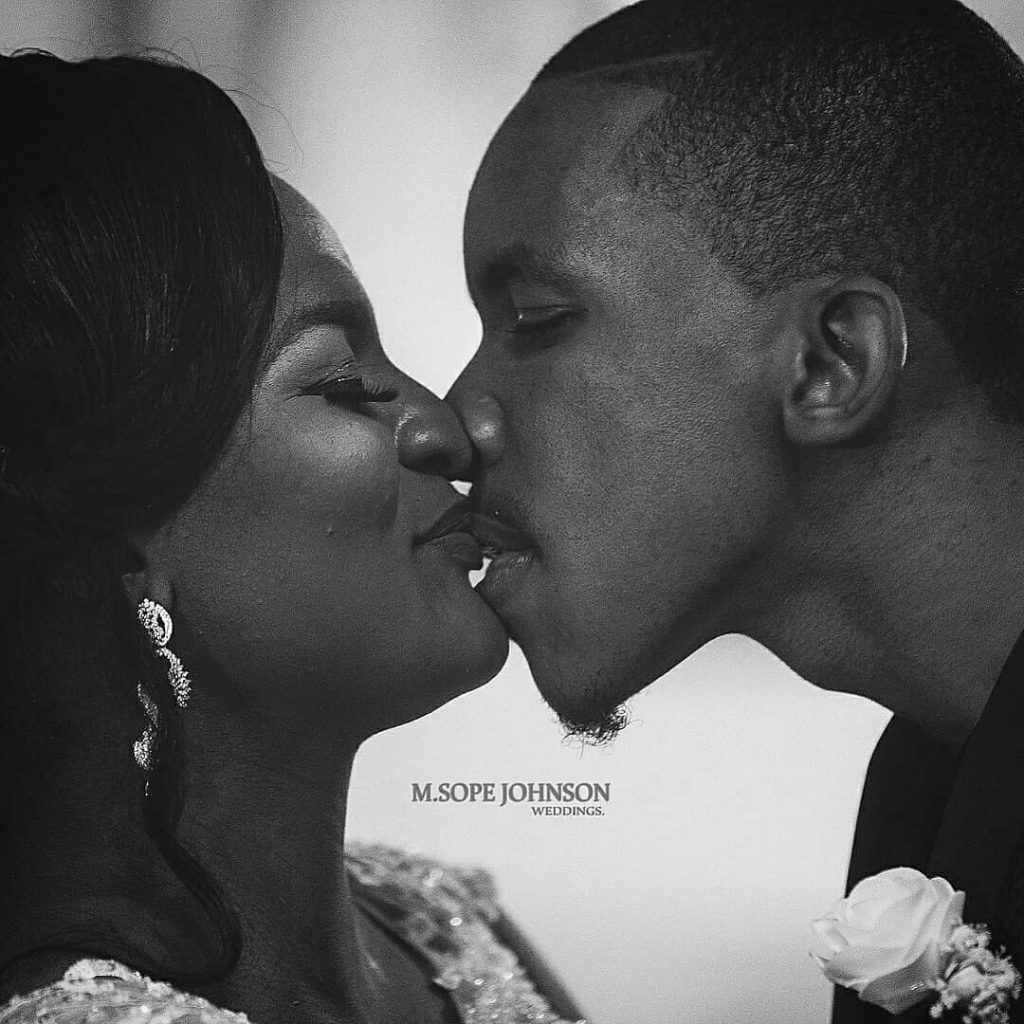 First Photos From DJ Consequence's White Wedding