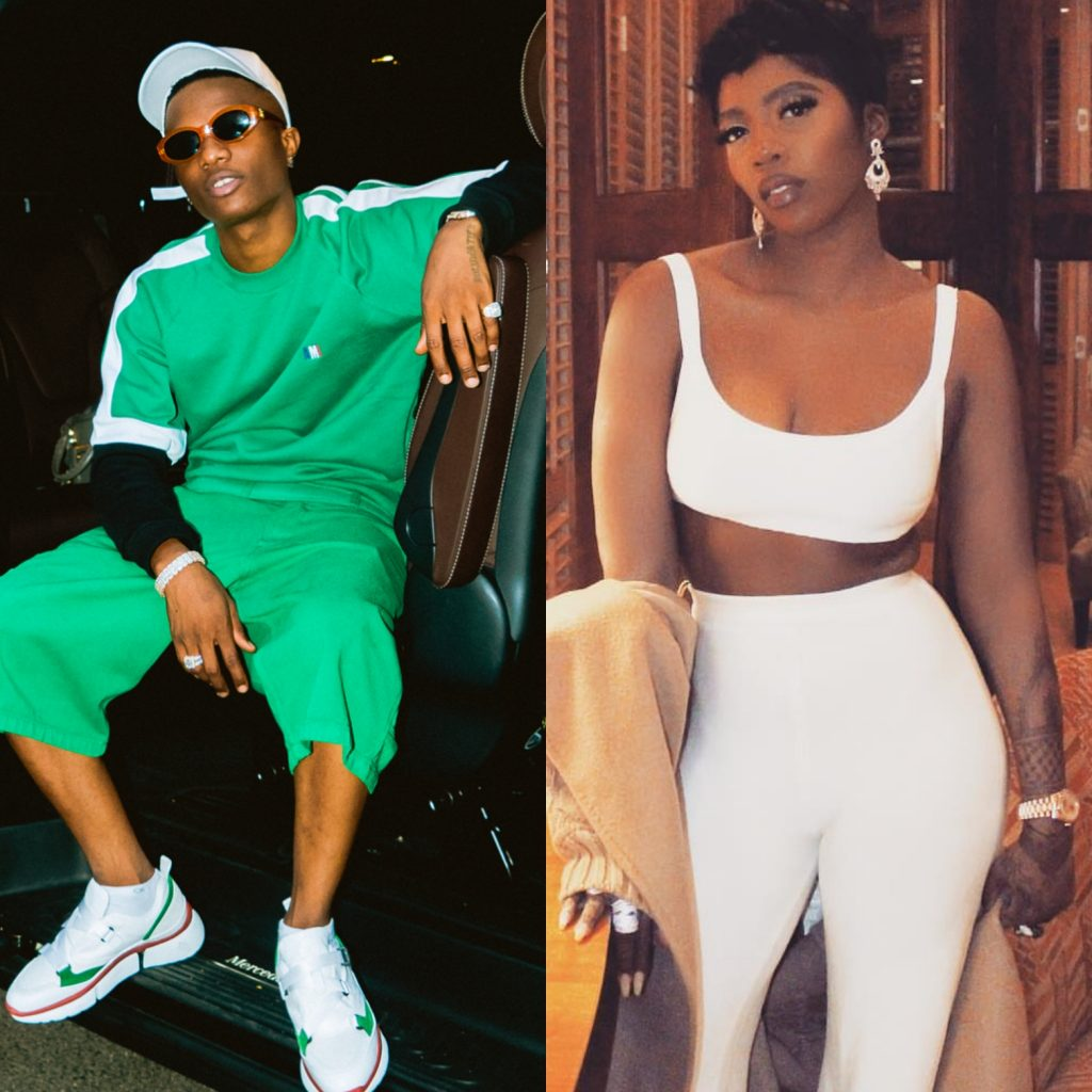 Wizkid Proves Tiwa Savage Is Really Special To Him