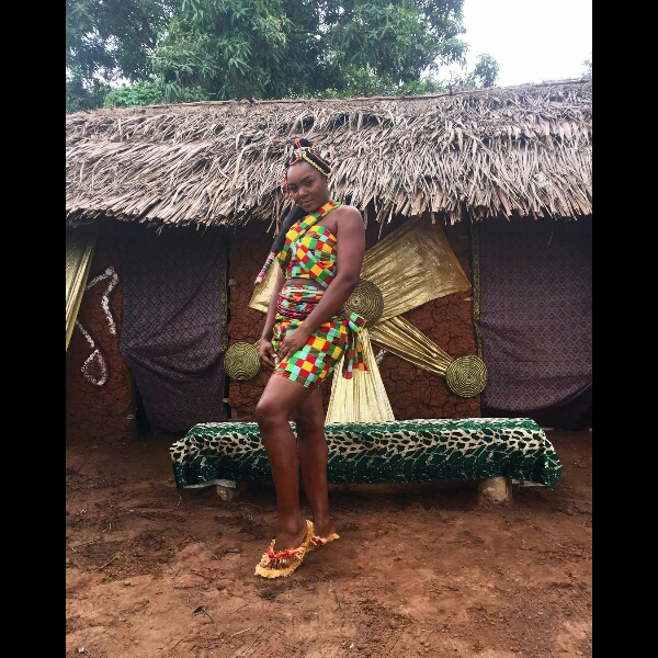 Actress, Chioma Akpotha Pictured In Traditional Outfit