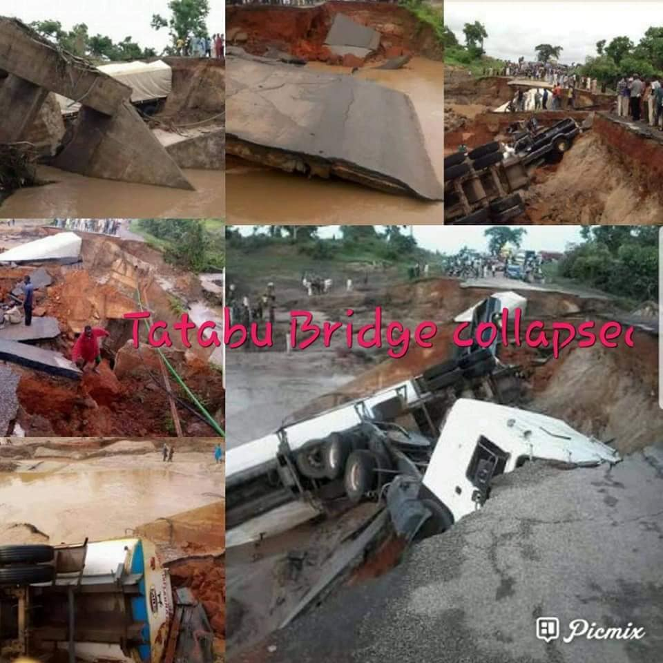 Checkout The Current Condition Of A Federal Bridge After Collapse (Photos)