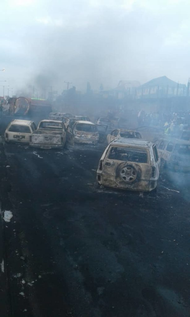 Otedola Bridge Fire: Lagos State Government Calls For The Arrest Of The Tanker Owner