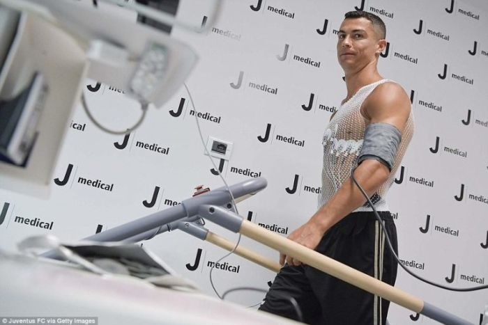 Cristiano Ronaldo Completes Juventus Medical And The Results Shows He Has The Physical Capacity Of A 20-Year-Old