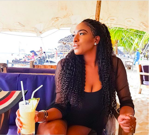 Chika Ike Flaunts Cleavage In Stunning New Photo