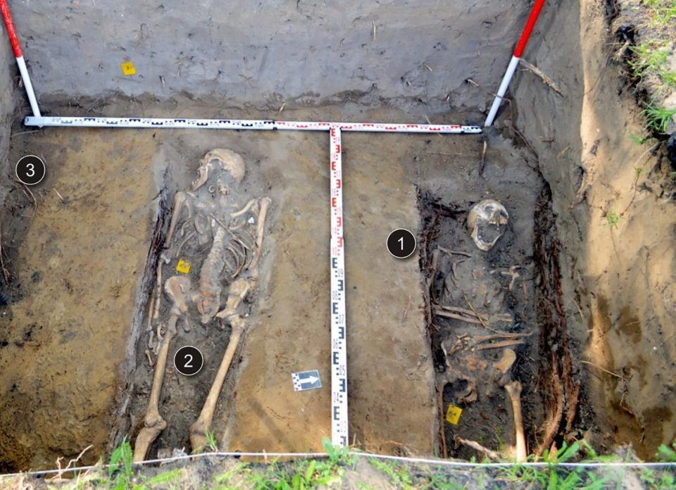 Shock As Mysterious Burial Site With 80,000 Skeletons Is Found Under Children's Playground (Photos)