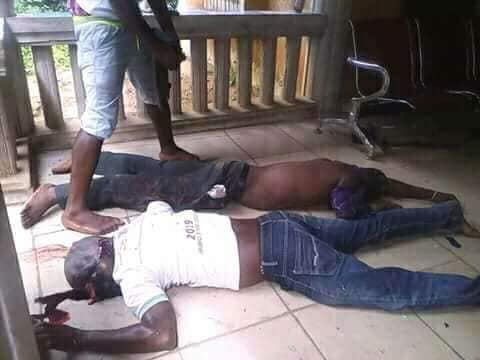 Two Men Shot Dead During Fight With Policemen In Akwa Ibom (Graphic Photo)