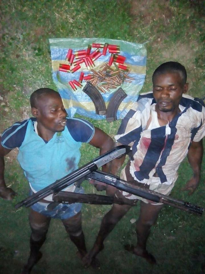 Two Armed Robbers Killed During Shootout With SARS In Ogun State (Photo)