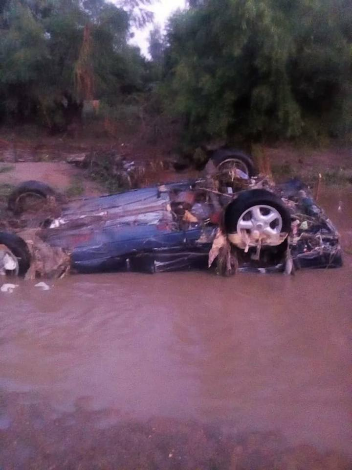 Photos Of Havoc Wrecked By Flooding After Heavy Rainfall In Katsina State