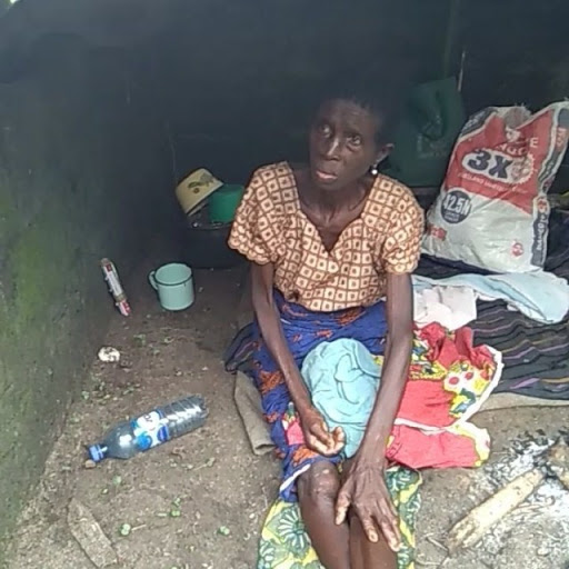 Woman Abandoned by Her Childrren Ater Pastor Told Them She's a Witch in Delta (Video)
