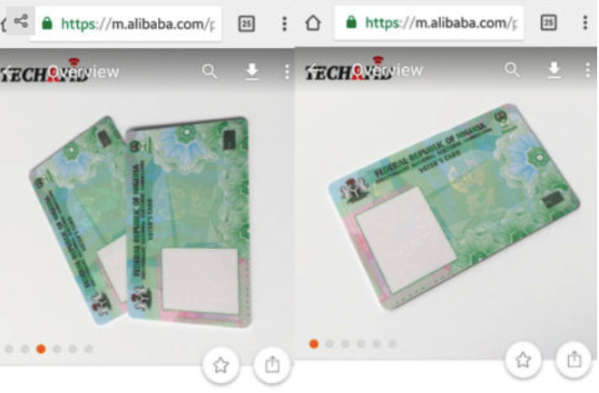 Chinese Website Where You Can Order For Nigeria's Pvcs Exposed (Photos)