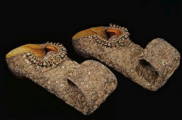 Costly Shoes From The 18th Century
