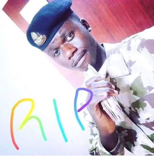 So Touching: Photos Of A Soldier Killed By Boko Haram Yesterday