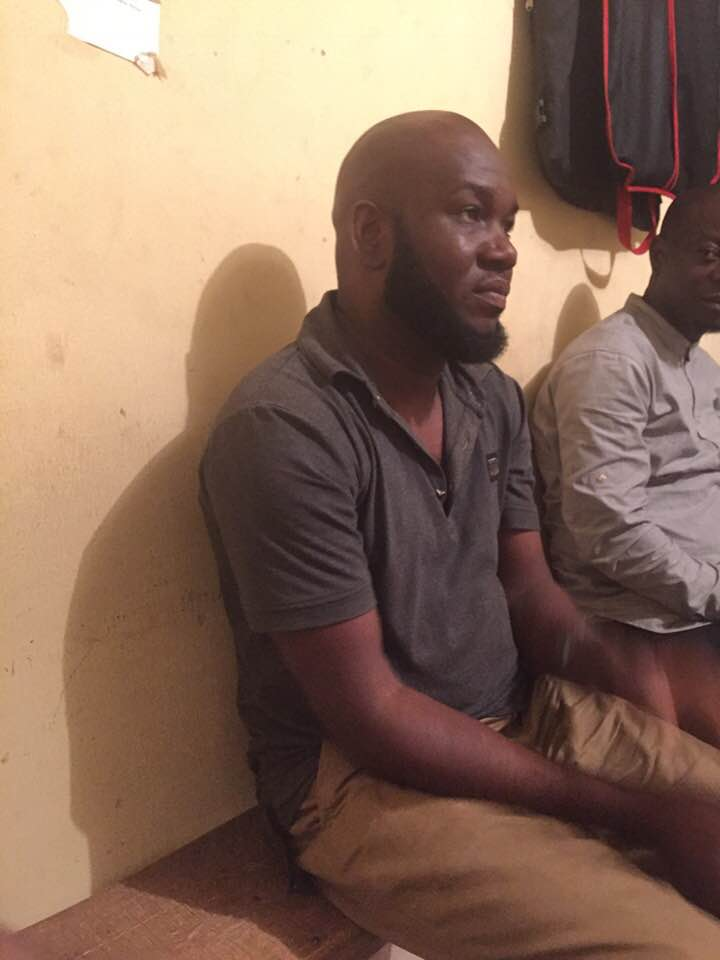 Man Arrested While Celebrating Stolen Car he Bought with Friends in Abuja (Photos)